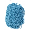 Seedbead Metallic Blue 10/0 Strung